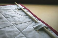 Hidden Hanging Tabs - A very clear tutorial from Crystal at modifytradition.blogspot.com