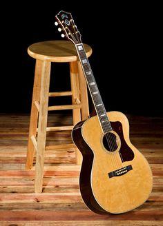 Guild Acoustic Guitar Guild Acoustic Guitars, 12 String Guitar, Resonator Guitar, Jazz Guitar, Beautiful Guitars, Folk Music, Musical Instruments, Musicals, Hobbies