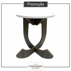 Mesa de canto light 50%OFF - eudecorando.com.br #promocao #liquidacao #baixouopreco #tabarato #ecommerce