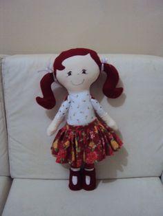 Essa é a Nana (né tia Nana)  Bonecas Coleção Rebeca Sapeca  By Renata Deichsel www.saldaterrapatchwork.blogspot.com face: Renata Deichsel
