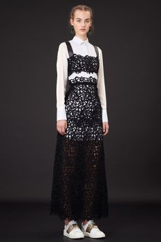 Surprising Gifts: Valentino Resort 2015. Lovely Crocheted Ideas and LookBook