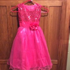 Two Little Girl Dresses. Same Size. $25 A Dress.