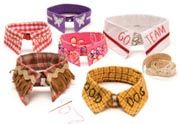 Awesome DIY patters for doggie collars, neckties, bowties via @doggiestylish LOVE IT!    http://www.doggiestylish.com/store/Free-Dog-Collar-and-Dog-Leash-Patterns/Free-Patterns-For-Decorative-Dog-Collars