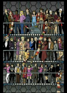 The Doctor's  and Companions.