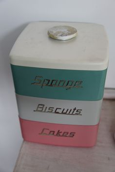 Australian made Nally Ware ...perfect colours for my kitchen!