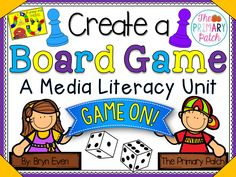 Game On! This Media Literacy unit for the Primary Grades is fun, highly… Media Literacy, Fun Math, Maths, Ontario Curriculum, Types Of Learners, Project Based Learning, Math Lessons, Teaching Ideas