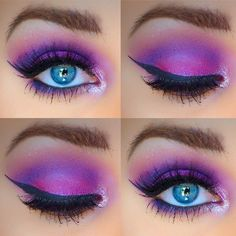 Purple Makeup with the Urban Decay electric palette. Details at Makeup_By_MichelleP on Instagram