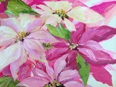Poinsettias by Susan Pepe