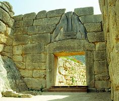 Mycenae, Greece. One of the biggest thrills of my life was to stand beneath the lion gate at Mycenae!