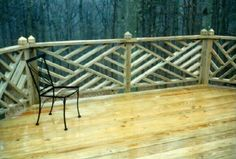 deck railing images chinese style   Deck: Chippendale Handrail Finial Tops