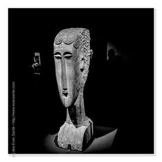 :: One Must Dare to be Happy - #iPhotography Location - Metropolitan Museum of Art #NYC #NewYork Subject - #Sculpture #FineArt #Artist - Amedeo Modigliani - Woman's Head Camera - #Apple #iPhone6Plus #EvanSante  Please consider following my #Instagram Feed - http://ift.tt/1S9w64J  2015 - Evan Santé - All Rights Reserved