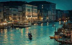 Venice at Night, Italy #EarthPics