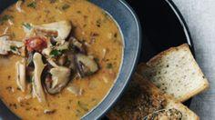 Svampesuppe med pestobrød | Femina