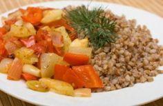 kasza z warzywami, zdrowa dieta, zdrowe jedzenie, fit food, health, odchudzanie, organic food