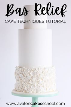 In this tutorial we'll show you two different cakes that use the bas relief cake technique. The bas relief technique really helps your cakes pop and look like sculptures. Learn how to create these incredible sculpted cakes using fondant and the bas relief technique by getting our step by step bake decorating tutorial today. Avalon Cakes School, for intermediate and professional cake and cookie decorators, has hundreds of cake tutorials and cookie tutorials.