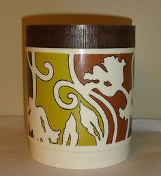 Vintage ALLADIN WARE PLASTIC CONTAINER CANISTER STORAGE WITH LID in Collectibles, Kitchen & Home, Kitchenware | eBay