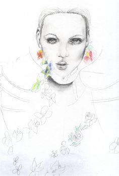 Illustration in style of Cedric Rivrain