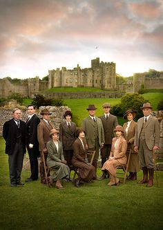The Downton Christmas special will see the cast enjoy a shooting party in Northumberland