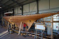 PHOTOS: A New Wooden 12-Meter >> Scuttlebutt Sailing News