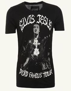 Ringspun allstars pornstar 69 web exclusive t shirt 20 for Elvis jesus t shirt