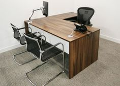 Task | Products | 		Desking | Executive | Hoxton MFC Office Storage, Office Desk, Office Environment, How To Plan, Furniture, Home Decor, Products, Desk Office, Decoration Home