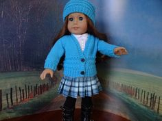 Vintage look school outfit for American Girl by ValorieoftheDolls