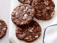 Chocolate White Chocolate Chunk Cookies Recipe : Ina Garten : Food Network - FoodNetwork.com