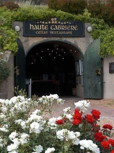 Everything on the menu at Haute Cabriere Cellar Restaurant, Franschhoek, Western Cape, RSA