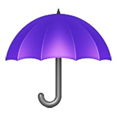 Free high-quality Umbrella emoji to use as Facebook and Viber stickers. You can also use this emoji as email emoticon, post it in forum or send this emoji as text messages SMS/MMS.