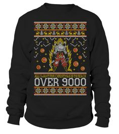 Goku Over 9000 Ugly Xmas Sweater   => Check out this shirt by clicking the image, have fun :) Please tag, repin & share with your friends who would love it. Christmas shirt, Christmas gift, christmas vacation shirt, dad gifts for christmas, mom gifts for christmas, funny christmas shirts, christmas gift ideas, christmas gifts for men, kids, women, xmas t shirts, Ugly Christmas Sweater Shirt #Christmas #hoodie #ideas #image #photo #shirt #tshirt #sweatshirt #tee #gift #perfectgift #birthday…