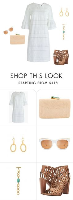 """Resort Ready!"" by stylebyjonathan ❤ liked on Polyvore featuring Kayu, Tory Burch, Julie Vos and Jessica Simpson"