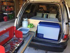 "Figure out more info on ""minivan rental"". Visit our web site. Hiace Camper, Suv Camper, Camper Van, Tiny Camper, Toyota Previa, Minivan Camping, Truck Camping, Diy Camping, Ideas"