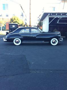 My 1947 Packard Custom Super Clipper model 2106 sans fender skirts. Such a beautiful automobile.