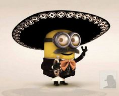 MexiMinion. Use for Cinco de Mayo for my Spanish speaking missionary.
