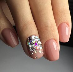 New ideas of manicure: the most original and fresh nail art New Nail Art Design, Creative Nail Designs, Toe Nail Designs, Bling Nails, Glitter Nails, French Tip Gel Nails, Paris Nails, Nail Jewels, Pretty Nail Colors