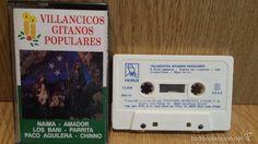 VILLANCICOS GITANOS POPULARES. MC / HORUS - 1990 / LUJO.