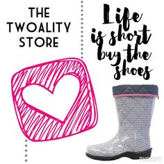 Who doesn't #love a new pair of #shoes or liners?!  #ShoeAddict #ShoesOftheDay #ShoeGame #Autumn #RainyDay  www.thetwoalitystore.com!!