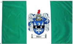 $49.99 Barr Family Crest / Coat of Arms Flag. Large 3 ft. x 5 ft. polyester flags.