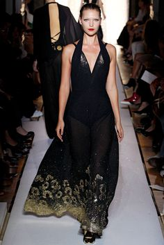 Saint Laurent Spring 2012 Ready-to-Wear Fashion Show - Arizona Muse (Next)