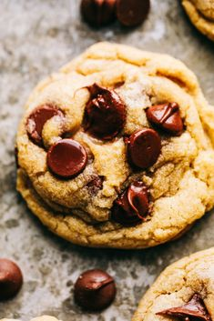 The Best Chocolate Chip Cookies turn out perfect every single time and don't require any chilling time. This is a classic tried and true chocolate chip cookie recipe that you will make again and again! Best Chocolate Chip Cookie, Semi Sweet Chocolate Chips, Chocolate Chip Recipes, Chocolate Desserts, Trader Joe, Cookie Recipes, Dessert Recipes, Cookie Tips, Honey Glazed Chicken