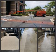Team CSG completed another hot water pressure cleaning job that consisted of removing heavy dirt build on outside of the building and all sidewalks. Pressure cleaning is the next step to beautifying your property and improving your image with our high pressure and power washing services. Pressure Washing Services, The Next Step, Sidewalks, Property Management, Improve Yourself, Cleaning, Building, Hot, Water