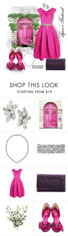 """""""M is for Magenta - #2898"""" by lynnspinterest ❤ liked on Polyvore featuring Harry Winston, Van Cleef & Arpels, Stella & Dot, Antonio Berardi, Judith Leiber, René Caovilla, Temperley London and 2898"""
