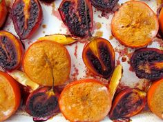 Roasting my fav winter fruit tamarillo & persimmon Lemon Recipes, Easy Recipes, Exotic Fruit, Roast, Clean Eating, Easy Meals, Dishes, Cooking, Breakfast