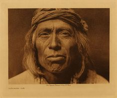 Shiwawatiwa - Zuñi. 1903. Edward Sheriff Curtis Photography.