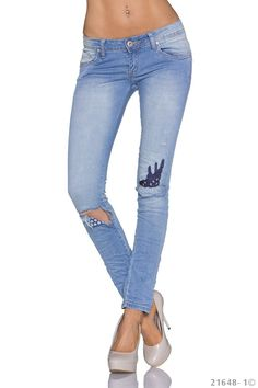 Skinny Jeans - Jeans - hellblau - SEXYJEANS.ch