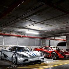 Koenigsegg & P1