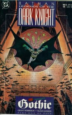 Batman Legends of the Dark Knight #6: Gothic Part 1 (DC Comic Book April 1990) @ niftywarehouse.com #NiftyWarehouse #Batman #DC #Comics #ComicBooks