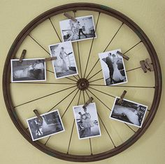 Recycled Bike Tire - Montana Bride Blog...just stole my neighbors cast-off so I can do this!