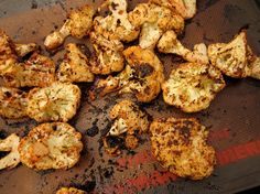 lemon roasted cauliflower with cumin & sumac