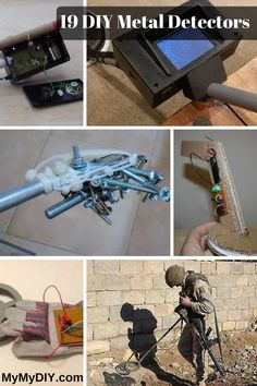 If you want to build a metal detector, we've got you covered. We've collected a list of the 19 best DIY metal detector plans from around the internet. Pulse Induction Metal Detector, Gas Detector, Lead Acid Battery Charger, Metal Detecting, Cool Tech, Electronics Projects, Arduino, Planer, Diy And Crafts